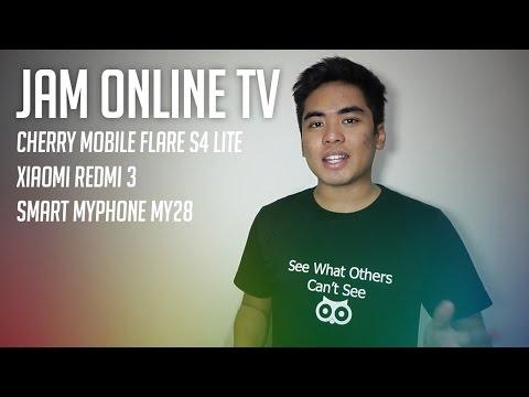 Cherry Mobile Flare S4 Lite, MyPhone my28, & Xiaomi Redmi 3 - Jam Online TV