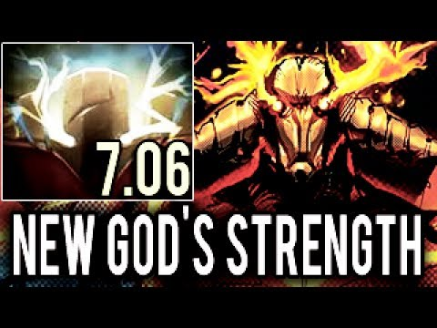 New God's Strength Sven 7.06 Cancer Madness Build by Arteezy Dota 2