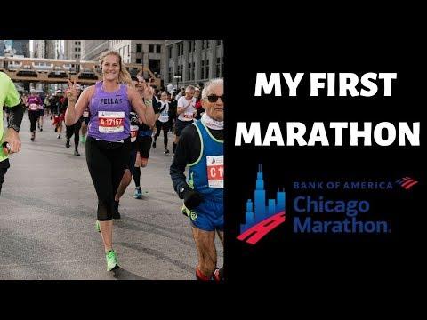 MY FIRST MARATHON | CHICAGO MARATHON 2019 видео