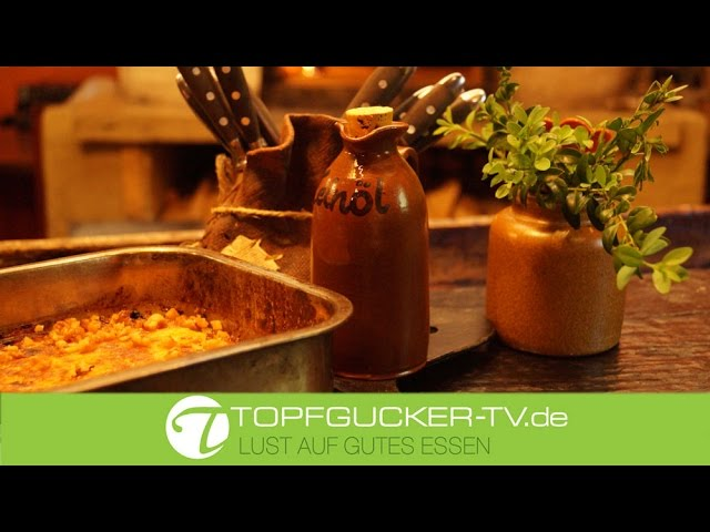 Erzgebirgischer Buttermilchgetzen aus dem Backofen mit Leinöl   Topfgucker-TV