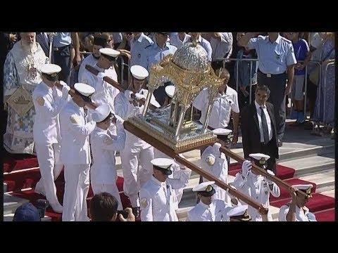 Ο εορτασμός της Παναγίας στην Τήνο