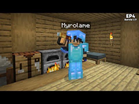 J'ai crafté ma première LONGUE-VUE ! - Episode 4 Minecraft Survie 1.17