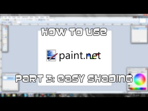 Tutorial | How to use paint.NET - Part 3: Easy Shading