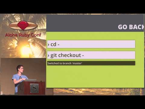 Aloha Ruby Conference 2012 Git and GitHub Secrets by Zach Holman