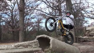 7. 2013 Bike Test - Sherco Motorcycle Vs. Monty Bicycles