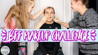 Video BFF MAKEUP CHALLENGE! MP3, 3GP, MP4, WEBM, AVI, FLV Januari 2018