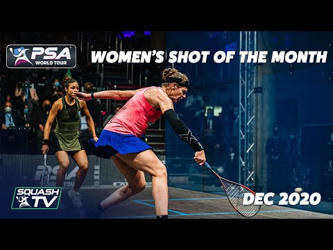 Squash: Women's Shot of the Month - December 2020 Contenders