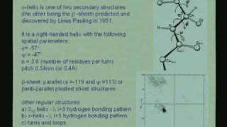 Lecture - 4 Protein Structure II
