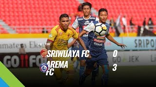 Video [Pekan 17] Cuplikan Pertandingan Sriwijaya FC vs Arema FC, 21 Juli 2018 MP3, 3GP, MP4, WEBM, AVI, FLV Agustus 2018