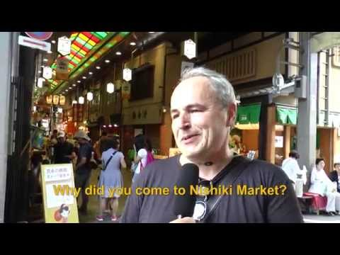 Travelers' Voice of Kyoto: NISHIKI MARKET Area Interview 001