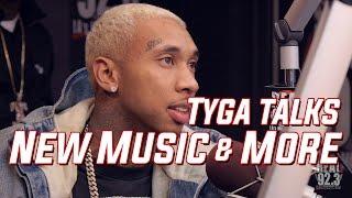 """Tyga Talks """"Baller Alert"""", His Beef w Drake, and More at REAL 92.3 LA!"""
