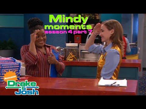 Drake & Josh  Mindy moments - Season 4 Part 7