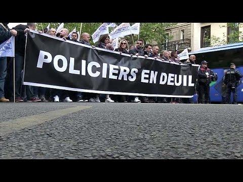 Αστυνομικοί κατέβηκαν στους δρόμους στη Γαλλία