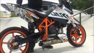 10. 2011 KTM Duke 690 Akrapovic Full Race Exhaust