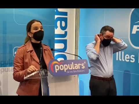 """Prohens: """"¿A qué espera Armengol para destituir a los cargos políticos vacunados en Balears?"""""""