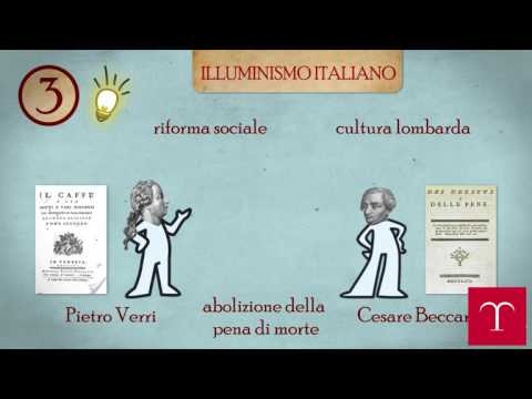 L'Illuminismo italiano