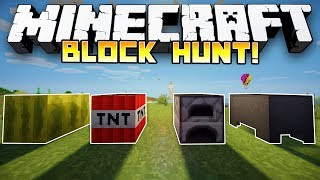 Minecraft: HILARIOUS BLOCK HUNT! - w/Preston, Jerome, Bashur&Husky!