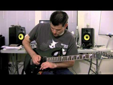 """Guitar Trick: How to do the Joe Satriani """"Scream"""""""