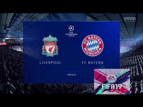 Liverpool Vs Bayern Munich | UEFA Champions League 2019 | Anfield | FIFA 19 Gameplay 1080p HD