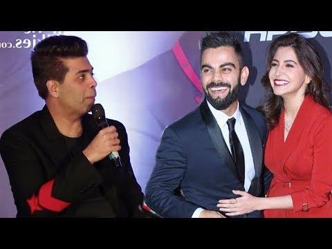 Karan Johar's Reaction on Inviting Virat & Anushka