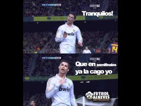 Imágenes graciosas de Barca y Real Madrid - Imagui