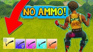 NO AMMO *NEW* Sneaky Silencers MODE in Fortnite: Battle Royale!