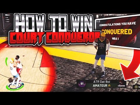 NBA 2K19 COURT CONQUEROR TAKEOVER - FULL METHOD TO WIN EVERY GAME