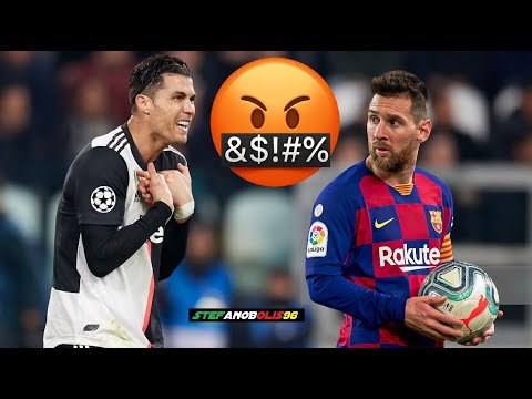 Cristiano Ronaldo Vs Leo Messi ● Top 5 Fights\Angry Moments Ever ● 1080i HD #CristianoRonaldo #Messi