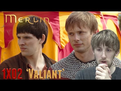 Merlin Season 1 Episode 2 - 'Valiant' Reaction