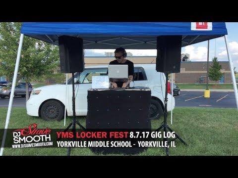 Locker Fest | Yorkville Middle School | Yorkville, Illinois 8/7/17