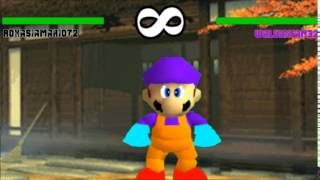 If Street Fighter 3rd Strike Was in Super Mario 64