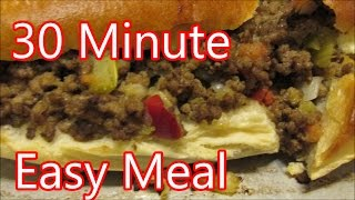 How to make Stuffed French Bread recipe, a Quick easy meal by Louisiana Cajun Recipes