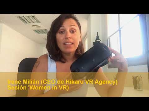 Vídeo promocional Irene Milián (Hikaru VR Agency)[;;;][;;;]