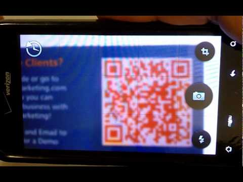 How to Use Smart Phone Apps to read QR Codes – Social Media Minute
