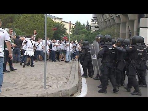 Ισπανία: Eπεισόδια στη Μαδρίτη πριν τον αγώνα Ρεάλ Μαδρίτης – Λέγκια Βαρσοβίας.