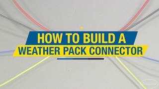 In this video we will show you how easy it is to make a factory style, weather tight connector! Get a Wire Crimping Kit:  http://www.eastwood.com/eastwood-crimp-right-weather-pack-connector-crimping-kit.html#utm_source=youtube&utm_medium=annotation&utm_campaign=2017-07-18&utm_content=Weather%20Pack%20Connector%20Crimping%20KitThe Eastwood Crimp-Right Weather Pack Connector Crimping Kit brings a valuable, previously professional-only Weather-Tight connector installation capability to the serious automotive DIY'er. Replace damaged factory installed connectors or add accessories while maintaining full factory wire harness integrity.The Eastwood Crimp-Right Solderless Connector Crimping Kit offers a strong, even and positive crimp on all standard Spade, Ring and Butt connectors in the common Red (22-16 Gauge), Blue (16-14 Gauge) and Yellow (12-10 Gauge) sizes.For more information on Eastwood products visit www.eastwood.com or stay connected with the team via:Facebook - https://www.facebook.com/eastwoodcompany Instagram - http://instagram.com/eastwoodco Blog - http://www.eastwood.com/blog Eastwood has everything you need to do the job right when you're restoring a car, truck or motorcycle - from welders to paint and everything in between.Get a Wire Crimping Kit:  http://www.eastwood.com/eastwood-crimp-right-weather-pack-connector-crimping-kit.html?utm_source=youtubeLIVE&utm_medium=annotation&utm_campaign=2017-07-10&utm_content=crimp%20right%20weather%20packThe Eastwood Crimp-Right Weather Pack Connector Crimping Kit brings a valuable, previously professional-only Weather-Tight connector installation capability to the serious automotive DIY'er. Replace damaged factory installed connectors or add accessories while maintaining full factory wire harness integrity.The Eastwood Crimp-Right Solderless Connector Crimping Kit offers a strong, even and positive crimp on all standard Spade, Ring and Butt connectors in the common Red (22-16 Gauge), Blue (16-14 Gauge) and Yellow (12-