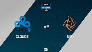 NiP vs C9, game 1