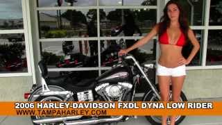 9. Used 2006 Harley-Davidson FXDL Dyna Low Rider Motorcycle for Sale