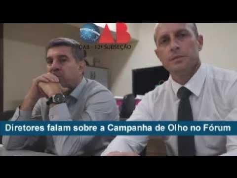 Campanha de Olho no Fórum: Subseção vai à Corregedoria e cobra melhorias à Advocacia