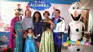 Show de Frozen para fiestas infantiles en Recreolandia 2016