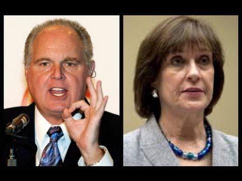 limbaugh - 5/23/13 - After IRS official Lois Lerner pleaded the Fifth Amendment during Wednesday afternoon's House committee hearings on the agency's intentional target...