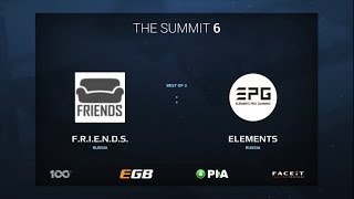 F.R.I.E.N.D.S. vs Elements Pro Gaming, Game 3, The Summit 6 Qualifiers, Europe