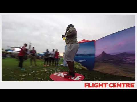 Fotobooth - Flight Centre 360 Slow Motion Booth at Delicious Festival