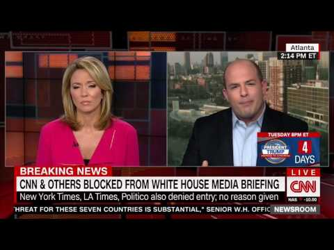Brian Stelter: 'We don't see CNN or NY Times rooting for any president'