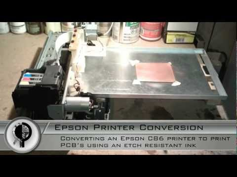 Modified Epson C86 PCB Printer