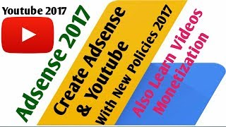 """how to monetize youtube videos  in Hindi (2017) & How to create AdSense accountIn this video we will learn step-by-step how to make a google adsens account and montetize videos from YouTube channel.Watch till End..!!To make money from youtube we must monetize youtube videos and to monetize videos we need to make adsense account.In this latest (2017) video on adsense i will show the step by step process for - how to make adsense account to monetize youtube videos.Most of the People Know Google adsense is the internet's No.1 ad-publishing network.Google Adsense is compulsary to earn money from your YouTube channels.Once you have created a YouTube Channel and have a number of existing videos, yout can earn money from all the videos on your youtube channel.Google Adsense association program is free and open for all. It is not hard to create adsense account but we need to learn easily. And this video is in Hindi.So today In This Video Tutorial I will show you how to make a Google adsense Account in Urdu/Hindi using YouTube monetization program.Go to the Monetization page.Go to """"Review or change AdSense association.From the AdSense Association page, click Change.At the bottom of the page, select Yes, proceed to Google account sign in to choose the Google Account you want to use.Accept the association and you'll be redirected back to YouTube."""