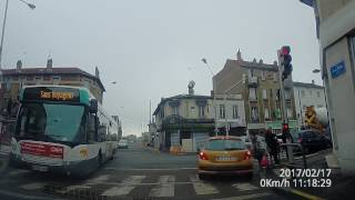 Video Driving in Paris suburbs/outskirts 4k dashcam from Drancy to Bobigny MP3, 3GP, MP4, WEBM, AVI, FLV November 2017