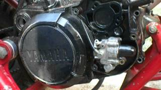 10. yamaha blaster clutch cover and oil pump