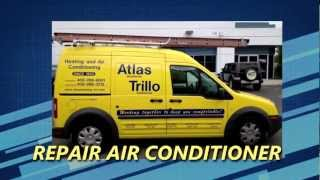 Video Air Conditioning Service San Jose | Atlas Trillo Heating and Air 408-286-8931 MP3, 3GP, MP4, WEBM, AVI, FLV Agustus 2018