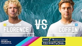 John John Florence takes on Conner Coffin in the Final of the 2016 MEO Rip Curl Pro Portugal. Subscribe to the WSL for more action: https://goo.gl/VllRuj Watch ...